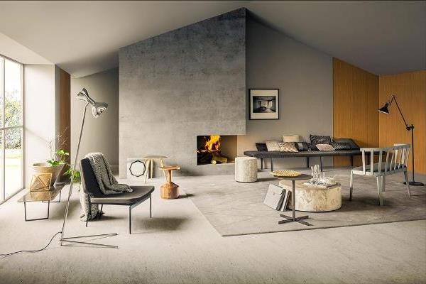Minimalist Modern Oturma Odası