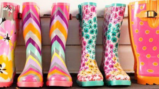 Renkli Yağmur Çizmeleri İle Hayatınıza Neşe Katın!