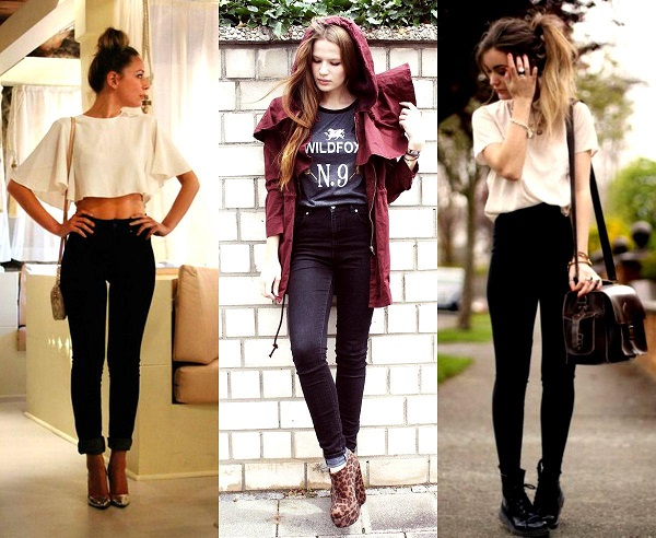 yüksek bel pantolon modeli